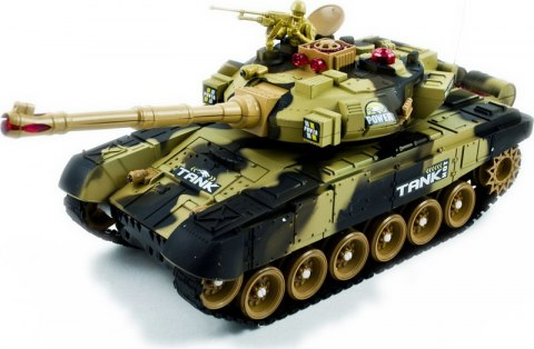 Czołg RC Big War Tank 9995 duży 2.4Ghz