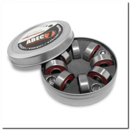 ABEC-7 RS RED CHROME ŁOŻYSKA (8 szt) OPAK. METAL NILS EXTREME